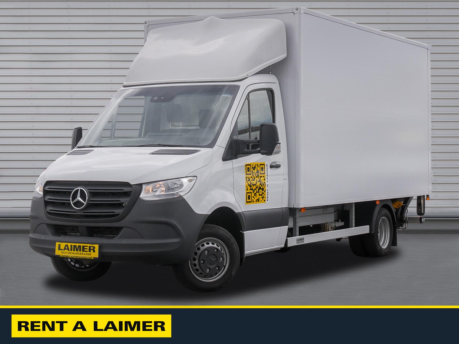 Mercedes Benz Sprinter 516 Koffer/LBW